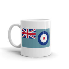 Awesome RAF Flag Mug - Gift Idea Air Force Plane Jet Helicopter Military #5682