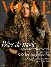Gisele Bundchen VOGUE Paris #8 2017 Julia van Os G.Elizabeth I.Hammam A.Diaconu