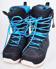 2016 MENS SALOMON LAUNCH LACES SJ SNOWBOARD BOOTS $239 8.5 Demo black blue