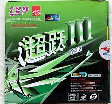 Friendship 729 Higher III / Higher 3 Pips-in Rubber with Sponge, OZ Seller