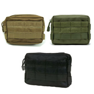 Waterproof Tactical Molle Pouch Utility Tool Waist Pack Belt Bag Phone Pocket