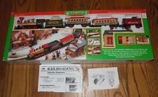 1989 New Bright Wintersville Express Train Track Set 174 Music Sounds Lights