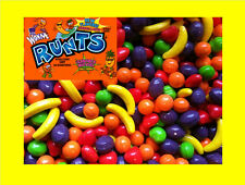 10 pounds Willy Wonka Runts Bulk Candy Vending FREE LABEL