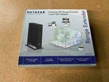 NEW NETGEAR N300 Wi-Fi Range Extender (WN2000RPT)- Desktop Version with 4-Ports