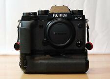 New listing Fujifilm Fuji X-T2 Body with Vpb-Xt2 Battery Grip + More
