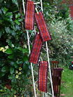 4 Vintage Tribal Turkmen  Kilim Weaving Woven Tent Trappings Bands Hangings