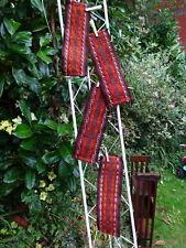 4 vintage tribal turcomanos Kilim Tejer Tejido tienda parafernalia bandas tapices