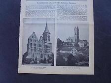 1915 Baugewerkszeitung 99 / Ostpreußen Neidenburg Mühlhausen Mehlsack