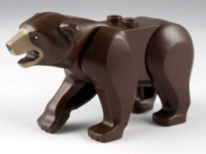 NEW LEGO Brown Bear Minifigure From Set 4438 4440 Animal City