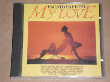 FAUSTO PAPETTI - MY LOVE - CD