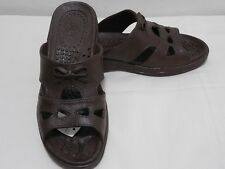 PALI HAWAII SANDALS  BOW TIE      SIZE 6 (MED)     BROWN