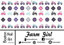 Farm Girl - Waterslide Nail Decal - 50 PC - BNA-10191