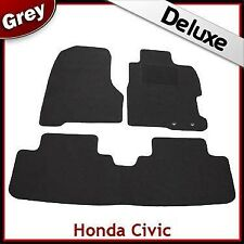 Honda Civic Type R 2000 2001...2004 2005 Tailored LUXURY 1300g Car Mats GREY