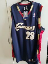 🔥🔥 CLEVELAND CAVALIERS NBA LEBRON JAMES #23 JERSEY ADIDAS 56 NEW WITH TAGS🏀🏀