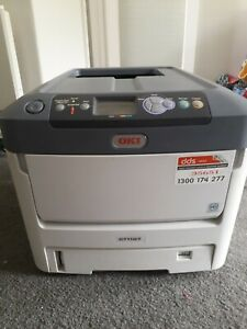 OKI C711WT Colour Printer, A4. Good condition. Pick up only