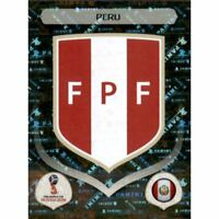 Panini WM 2018 232 Peru World Cup WC 18Wappen Logo Glitzer Foil