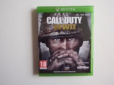 Call of Duty: WWII for Xbox One in MINT Condition