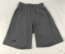Under Armour MEN'S Athletic Shorts Loose Heat Gear Gray 1291321 Size M