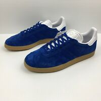 Adidas Originals Gazelle Sneakers in Collegiate Royal Blue Men's Size 9 NEW RARE