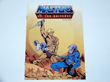 MOTU HE-MAN MASTERS OF THE UNIVERSE  '86 MAGAZINE Nr 1/1986 DUTCH CATALOG MATTEL