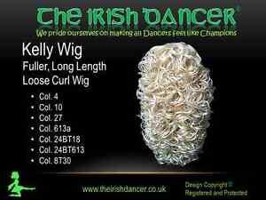 Kelly Full Loose Curl Wig - Irish Dance Wig