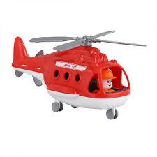 Wader Polesie Feuerwehr Hubschrauber Helikopter Kinder Spielzeug Heli 68651
