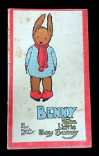 Benny The Little Toy Bunny by H G C Marsh Lambert, c 1920