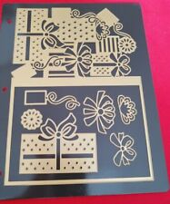 Anna Griffin Presents Jacket Die Set Card Making Christmas w/Magnetic Sheet