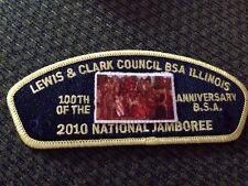 MINT 2010 JSP Lewis & Clark Council Black Backing