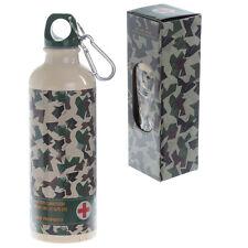 Camouflage Design 500ml Aluminium Water Bottle