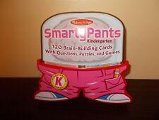 Melissa & Doug Smarty Pants 120 Brain-Building Curriculum-Based Cards Kindergart