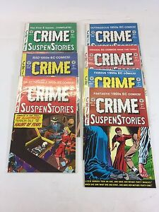 ****Lot of 7 issues Vintage THE CRIME STORIES 1992-95 Excellent Condition!!!!
