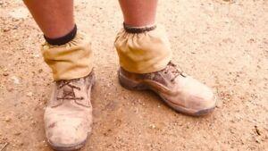 Handmade Sock Protectors Gators Boot Savers