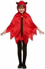 Diable Capuche Cape Enfants Halloween Costume Déguisement Accessoire