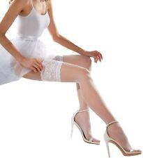 Halterlose Damen-Strümpfe aus Polyamid für die Hochzeit