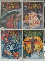 The Final Night 1 2 3 4 Complete Set Series Run Lot 1-4 VF/NM