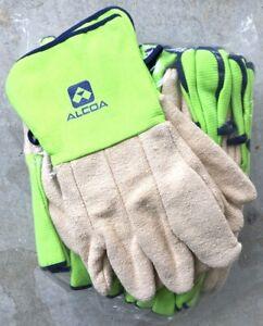 10 pack - ALCOA GLOVES FURNACE WORKWEAR SAFETY GLOVES