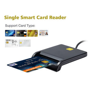 USB Chipkartenleser SIM ID Kartenleser Personalausweis Lesegeraet Reader TDD Neu