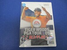 Wii, Tiger Woods PGA Tour '09 All Play, EA Sports, Nintendo, Rated E