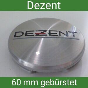 ZT 2000 / N07 Dezent gebürstet Nabenkappen Felgendeckel 60  mm 1 St.