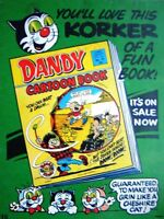 Vintage 1988 Advert for DANDY Comics  - 'Korky the Cat' Ad #2
