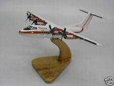 DHC-7 De Havilland Ransome Airplane Handcrafted Wood Model Regular New