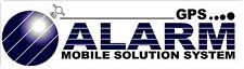 90X25MM GPS ALARM STICKER MOBILE SOLUTION CAR BUS CARAVAN (small)