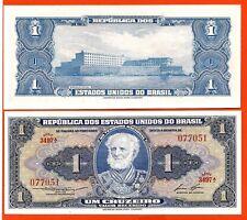 BRESIL billet neuf de 1 CRUZEIRO  Pick 150 de 1952 Marquis de TAMANDARE