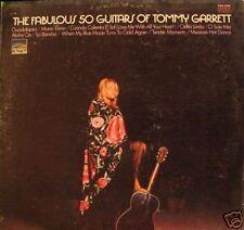 """""""FABULOUS 50 GUITARS OF TOMMY GARRETT"""" LP STEREO '70"""
