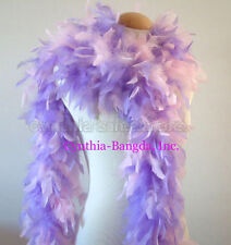 BaBy Pink / Lavender mixture 65 Grams Chandelle Feather Boa Party Halloween