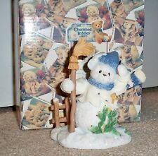 Cherished Teddies Buddy Winter Snowbear And the North Wind Shall Blow