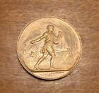 Ancienne Médaille en Bronze Société de Comptabilité de Paris France Lagrange