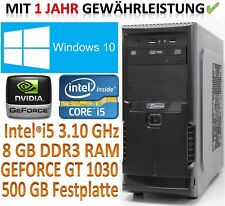 Gamer PC Intel i5 3.40 GHz │ 8gb di RAM │ 500gb HDD │ GeForce gt1030 2gb GDDR 5 │ USB 3