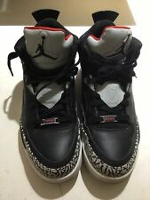 Nike Air Jordan Spizike Son of Mars Low Black Cement Pre-Owned W/Box Size 9 2015